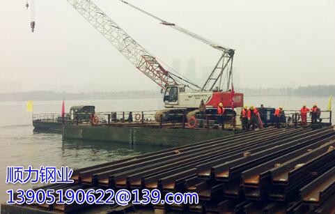 桥梁墩柱施工用钢板桩