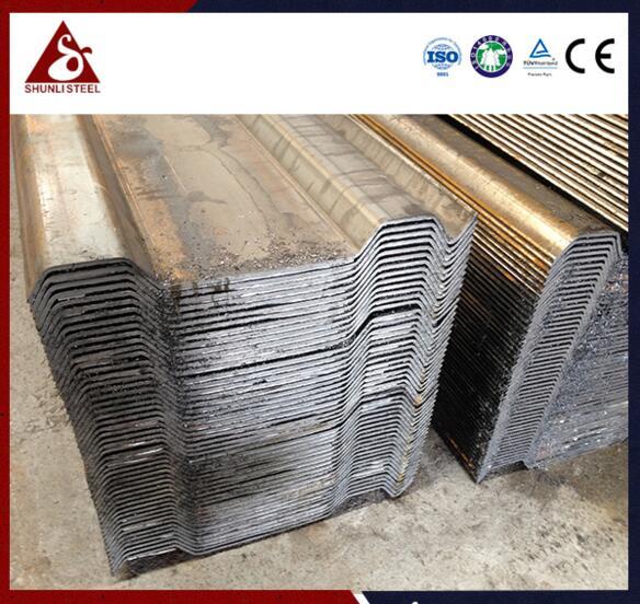 波纹钢板桩支护价格