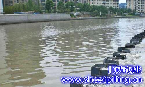 钢板桩隔水