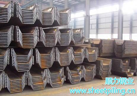12m长IV型拉森钢板桩