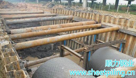 12米IV型拉森钢板桩一根多重